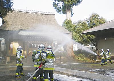 文化財の火災対策