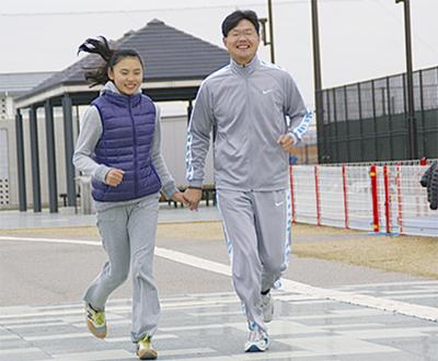ファミリーマラソン開催