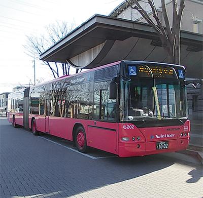 連節バス使い社会実験