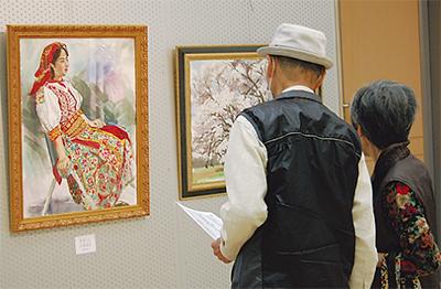 市美術協会が絵画展