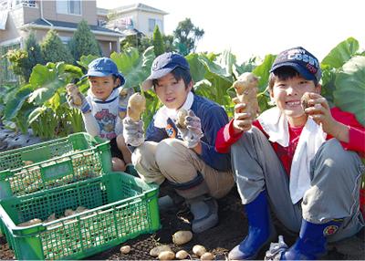 農家に留学体験