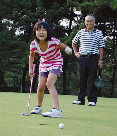 ゴルフを楽しもう