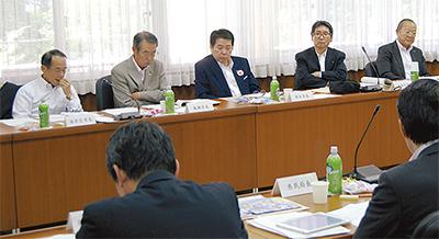 首長集まり地域の課題議論