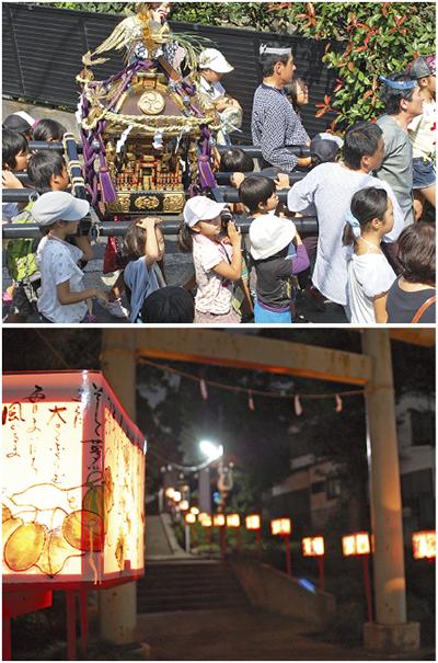 地域で作る 地元の祭り