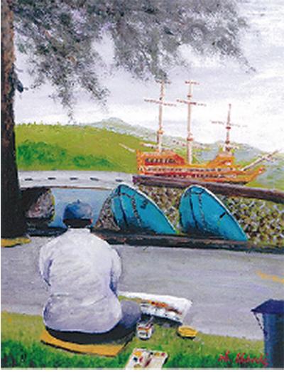 油絵の絵画展