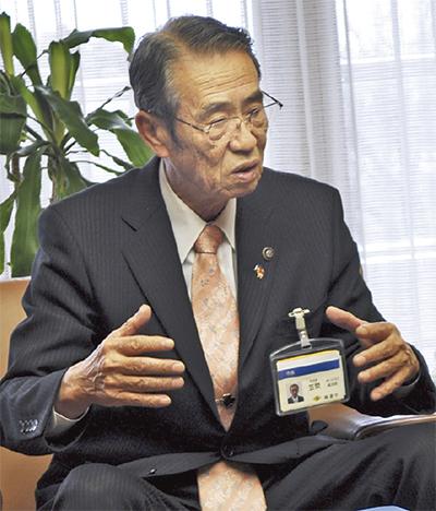 笠間市長が引退を表明