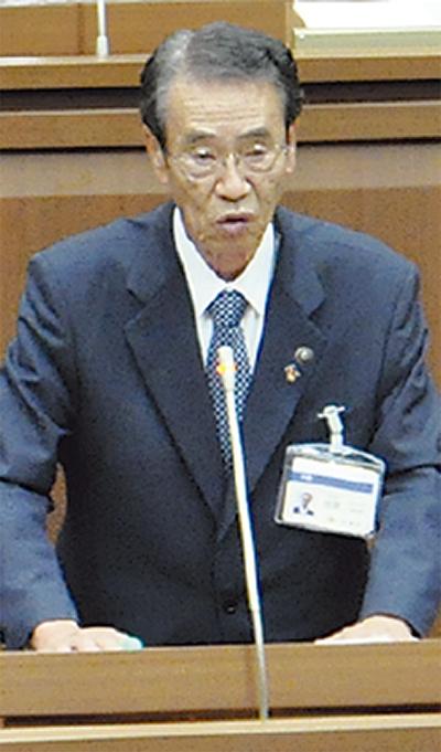 笠間市長が最後の登壇