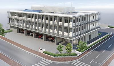 防災拠点の機能強化へ 消防本部老朽化に伴い | 綾瀬 | タウンニュース
