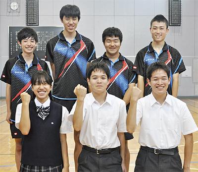 生蘭高等専修学校 2部活7選手が全国へ 卓球男子団体は初の出場 ...