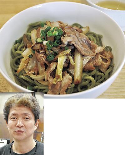豚すき使った新感覚麺