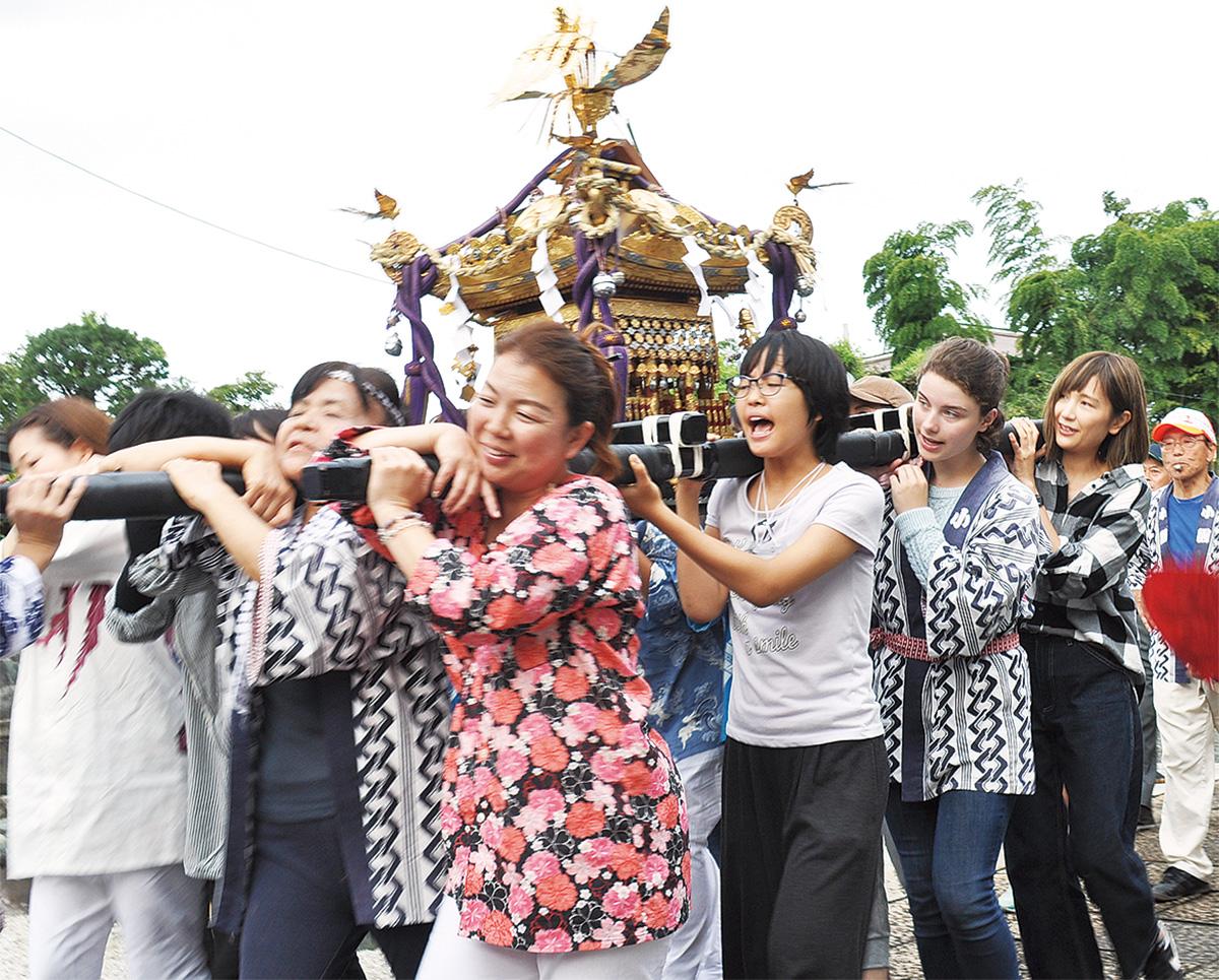 日本の粋 留学生が体験