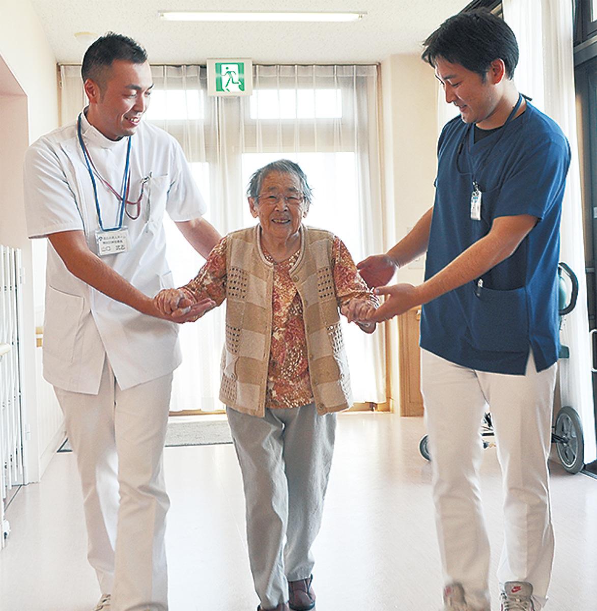介護の現場と病院がタッグ