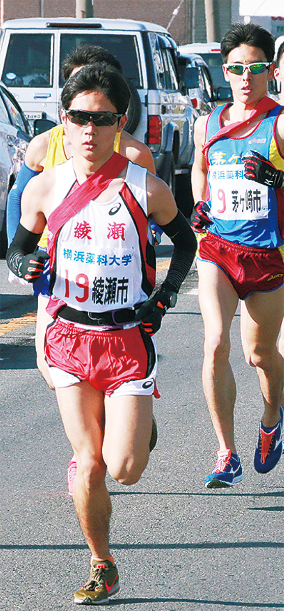 鎌田選手 区間1位の力走