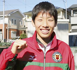 4年連続関東学連選抜入りの梶原有高さん