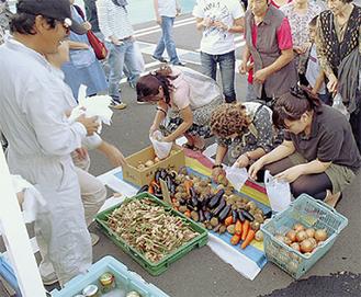 人気の野菜詰め放題