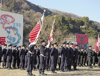 平成24年消防出初式の様子