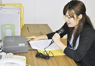 防災無線(写真)は町内80カ所のスピーカーで放送されている