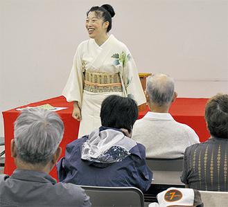 楽しいトークで会場を沸かせた神田さん