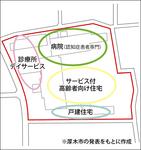 跡地(校舎部分)の利用構想図
