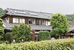 中津川のほとりに建つ一軒宿。自然いっぱい、せせらぎが心地良い