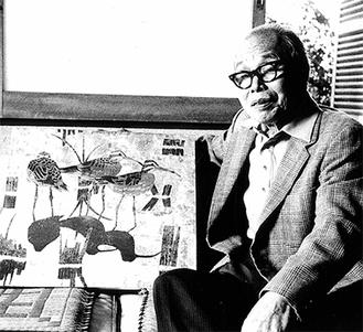 生前の熊坂東以さん(1982年)