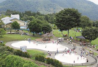 人気の遊び場あいかわ公園