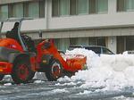 昨年2月の大雪の様子