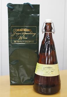 清川ゆずスパークリングワイン