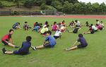 スクールの練習風景