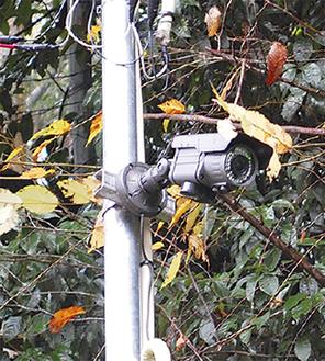 既存の防犯カメラ