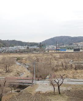 水と緑のレクリエーションゾーンとして整備が検討されている田代運動公園周辺
