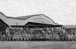 飛行場格納庫の写真(町郷土資料館提供)