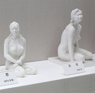 中村氏の作品(昨年度の展示)