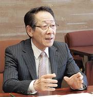 小野澤町長が出馬表明