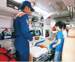 救急車を見学