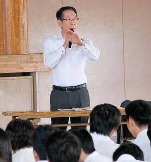 小野澤町長が直接愛川の魅力を紹介