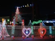 村庁舎もクリスマス