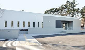 新博物館の外観