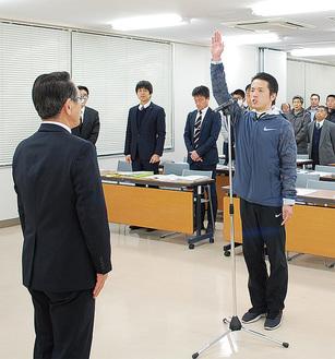 小倉主将の選手宣誓
