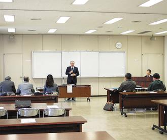 県厚木合同庁舎での説明会の様子