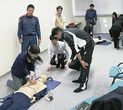 応急手当を学ぶ
