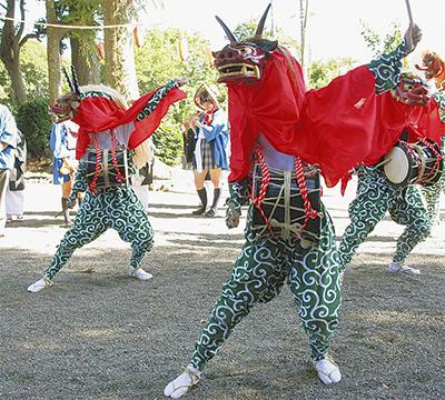 関東の三頭獅子舞が一堂に