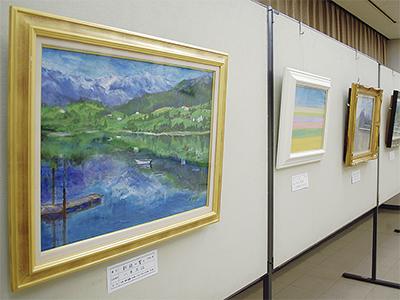 文化会館で絵画展