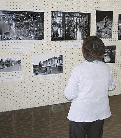 地場産業の写真展