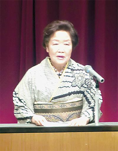 清川村で初の県婦連大会
