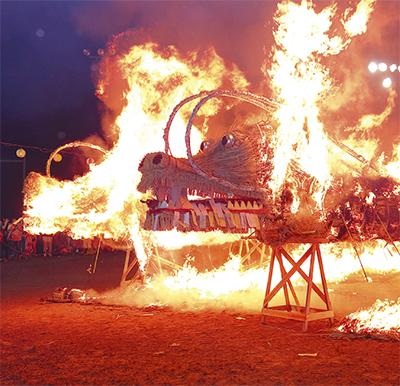音と炎の祭典
