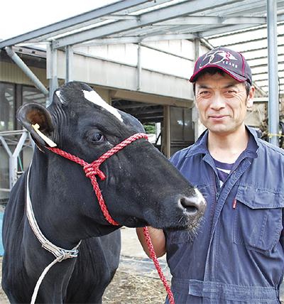 愛川の「美人牛」全国9位