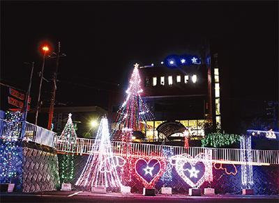 村役場もクリスマス