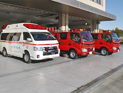 救急車両を更新