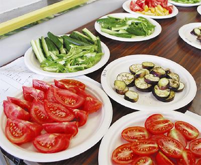 野菜の美味しさ体感
